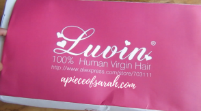 Luvin Hair Packaging